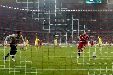 GER, UEFA CL, FC Bayern Muenchen  vs.  FC Villarreal