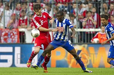 GER, 1.FBL,  FC Bayern Muenchen vs . Hertha BSC