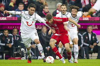 GER, 1.FBL,  FC Bayern Muenchen vs. Hannover 96