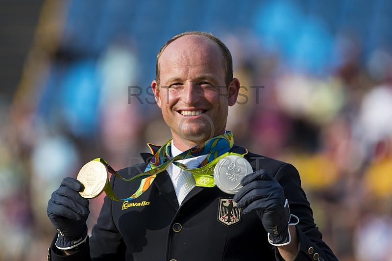 BRA, Olympia 2016 Rio, Pferdesport Finale Springen - Vielseitigkeitsreiten Tag 4