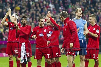 GER, 1.FBL,  FC Bayern Muenchen vs. FC Ingolstadt 04