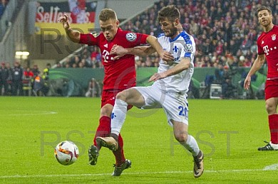 GER, DFB Pokal Achtelfinale,  FC Bayern Muenchen vs. SV Darmstadt 98