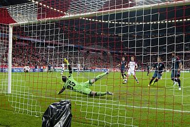 GER, UEFA CL, FC Bayern Muenchen vs. ZSKA Moskau