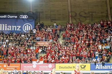 GER, BBL Playoff Halbfinale Spiel 2 , FC Bayern Muenchen vs. Brose Bamberg