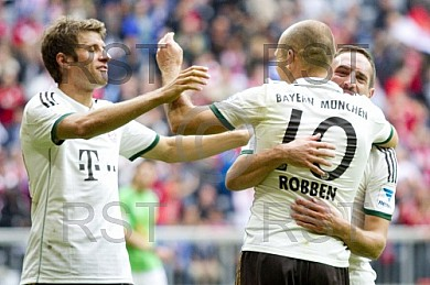GER, 1.FBL,  FC Bayern Muenchen vs . Hannover 96