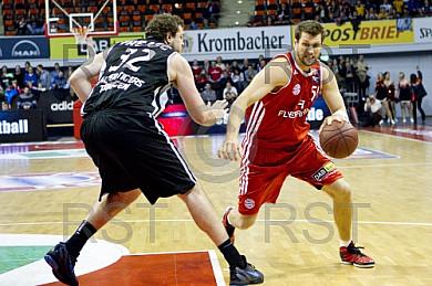 GER, BBL, FC Bayern Muenchenn vs. Walter Tigers Tuebingen