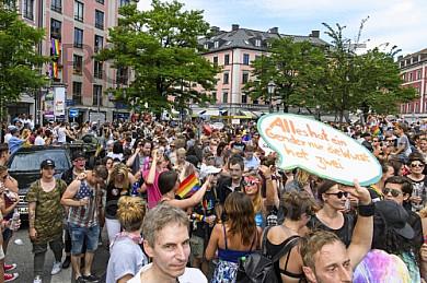 GER, impressionen zur Christopher Street Day  Politparade 2016