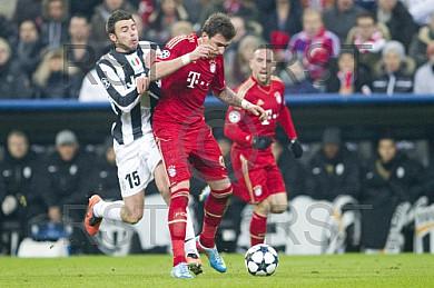 GER, UEFA CL, FC Bayern Muenchen vs. Juventus Turin