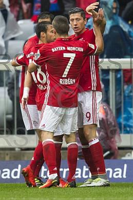 GER, 1.FBL,  FC Bayern Muenchen vs. FC Ingolstadt