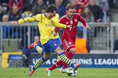GER, UEFA CL, FC Bayern Muenchen vs. Arsenal London