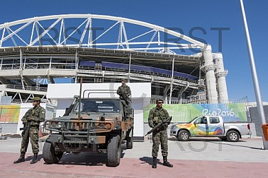 BRA, Olympia 2016 Rio, Leichtathletik, Feature Sicherheit