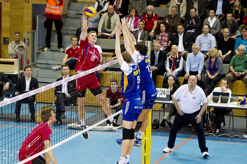 GER, 1.BL Volleyball Play Off, Generali Haching vs. VfB Friedric