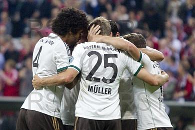 GER, DFB Pokal, FC Bayern Muenchen vs. Hannover 96