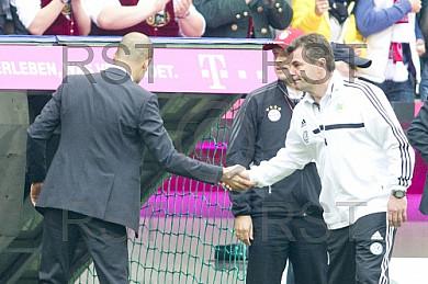 GER, 1.FBL,  FC Bayern Muenchen vs . VfL Wolfsburg