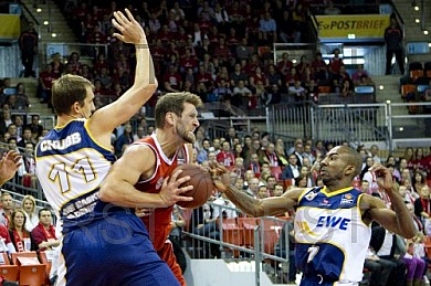 GER, BBL, FC Bayern Muenchenn vs. EWE Baskets Oldenburg