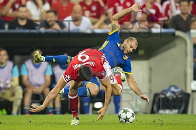 GER, CL Gruppe D, FC Bayern Muenchen (GER) vs FC Rostow (RUS)