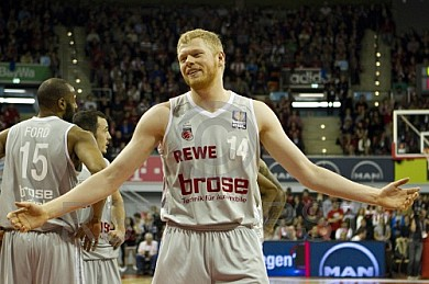 GER, BBL Play Off, FC Bayern Muenchen vs. Brose Baskets Bamberg