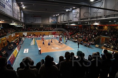 GER, 1.BL Volleyball Play Off, Generali Haching vs. VfB Friedrichshafen