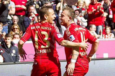GER, 1.FBL,  FC Bayern Muenchen vs. 1. FC NŸrnberg