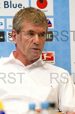 GER, 2.FBL, Trainervorstellung Friedhelm Funkel beim TSV 1860