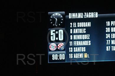 GER, UEFA CL,  FC Bayern Muenchen (GER) vs. GNK Dinamo Zagreb (CRO)