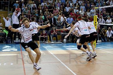 GER, 1.BL Volleyball, Generali Haching vs. Berlin Recycling Voll