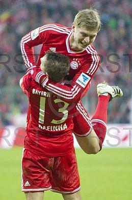 GER, 1.FBL,  FC Bayern Muenchen vs. Hamburger SV