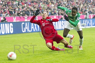 GER, 1.FBL,  FC Bayern Muenchen vs. SpVgg Greuther Fuerth