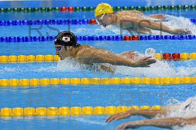 BRA, Olympia 2016 Rio,  Finale Schwimmen 4 x 100 Meter Lagen