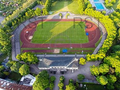 GER, Feature Luftbilder Dantestadion Muenchen